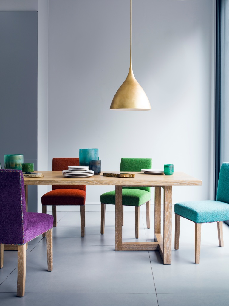 ijl-brown-wimbledon-table-from-3400-hampton-low-back-chairs-from-445-glass-accessories-from-35-agnes-medium-pendant-565