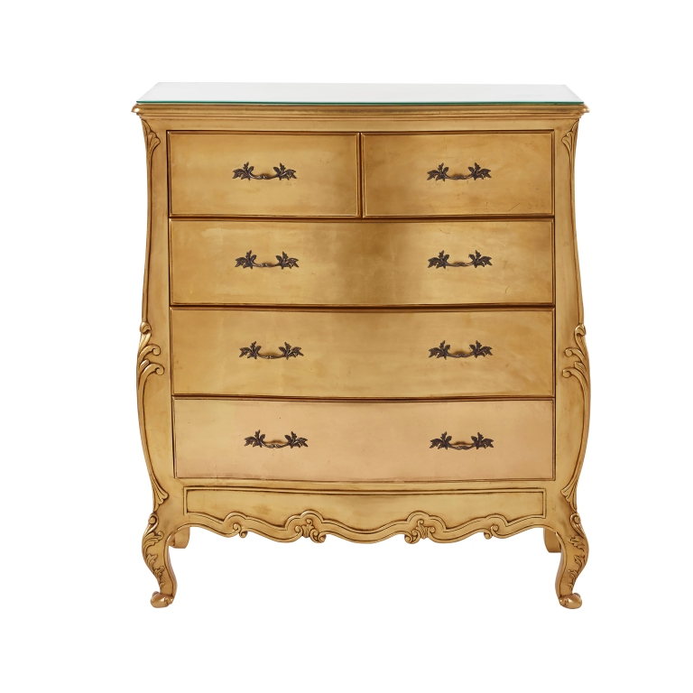le-pompadour-gold-chest-of-drawers