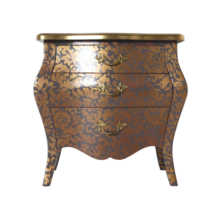 french-three-drawer-bombe-bedside-in-gold-idelle