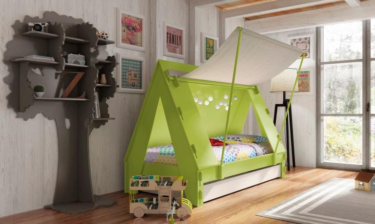 kids-tent-bed-green-cuckooland-hr-gbp1035