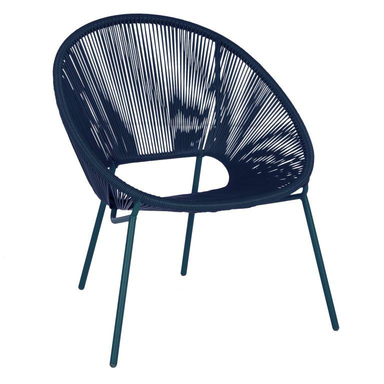 House by John Lewis Salsa Garden Chair, Blue £60