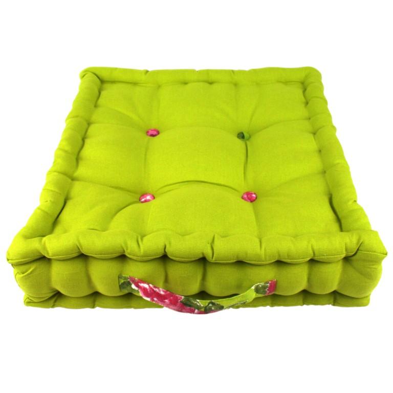 Jacky Lime Garden Floor Cushion