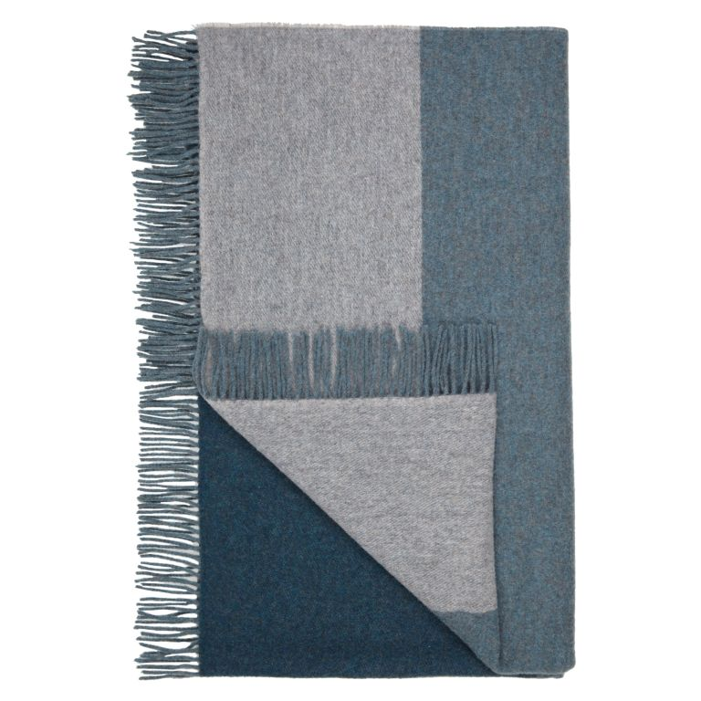 Design Project by John Lewis No.021 Throw, Evergreen Grey £120