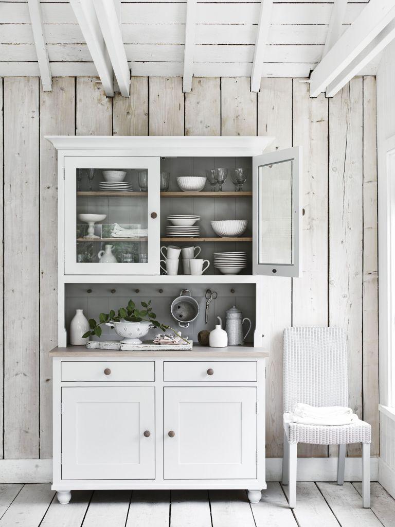 Neptune Suffolk 4ft Glazed Rack Dresser With Drawers £2,150