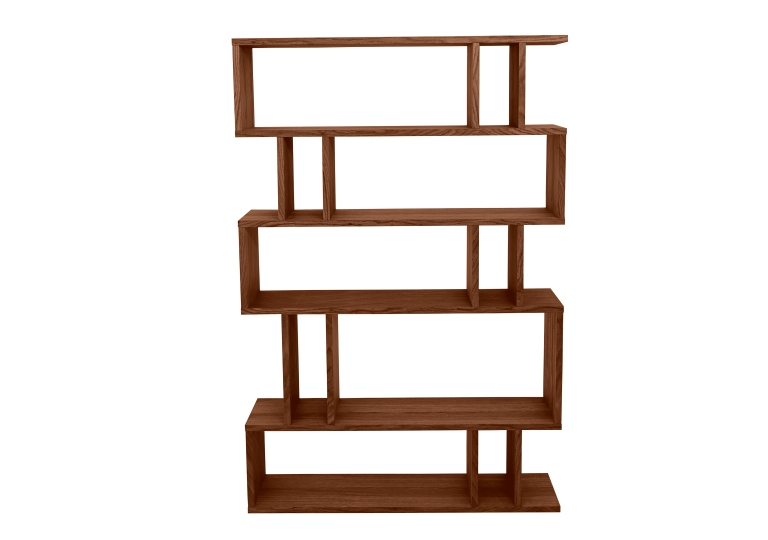 FURNITURE VILLAGE l Elmari_Tall-Shelving_Dark-Oak